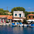 Stock Photo: Greek harbor