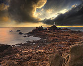 La Corbiere lighthouse — Stock Photo