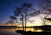 Windermere sunset — Stock Photo