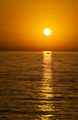 Lesvos sunset — Stock Photo