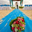 Stock Photo: Mexico beach wedding