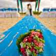 Mexico beach wedding - Stock Photo
