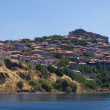 Stock Photo: Molyvos town