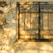 Stock Photo: Window shutters