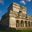 Stock Photo: Tulum temple