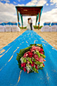 Mariage de plage Mexique — Photo