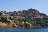 Molyvos town — Stock Photo