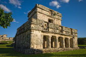 Tulum temple — Stock Photo