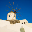 Stock Photo: Santorini windmill