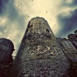 Stock Photo: Brooding castle tower
