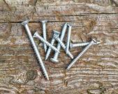 Surtido de tornillos para madera — Foto de Stock