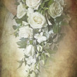 Stock Photo: Vintage look bouquet