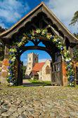 Wedding entrance — Stock Photo
