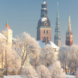 Riga, Latvia - Stock Photo