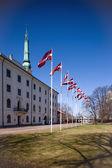 Palace of the President of Latvia — Stock Photo