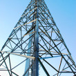 Radio tower, mobile base — Stock Photo #5851030