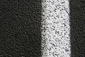 горизонтальная линия асфальт — Стоковое фото