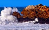 Chapoteo del gran océano — Foto de Stock