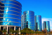 Oracle Buildings, Redwood City California — Stock Photo