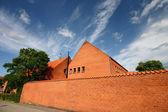 House brick wall — Stock Photo