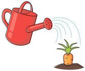 Growing plants — Stock Vector