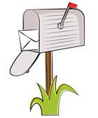 Mailbox — Stock Vector