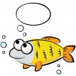 Stock Vector: Funny fish