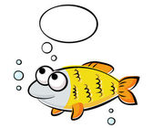 Funny fish — Stock Vector