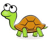 Turtle cartoon — Stock Vector