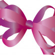 Bow and Ribbons — Stock Vector