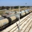 Oil trains — Stock Photo