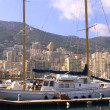 Yachts in Monaco Harbour - Stock Photo