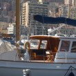 Yachts in Monaco Harbour — Stockfoto