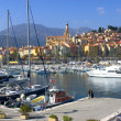 City of Menton - Stock Photo