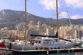 Yachts in Monaco Harbour — Stock Photo