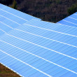 Photovoltaic power plant - Stock Photo