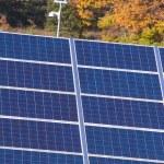 Photovoltaic power plant — Stock Photo #5656848
