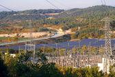 Usina de energia fotovoltaica — Fotografia Stock