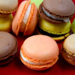 Macaroons in the studio - Stock Photo