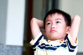 Boy thinking — Stock Photo