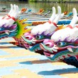 Chinese dragon boat head — Stock Photo #5813429