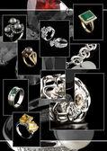 Jewelry collage — Stock Photo