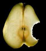 Luminous pear — Stock Photo