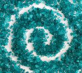 Pattern of sea salt — Stock Photo