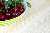 Delicious cherries — Stock Photo