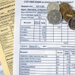 Utility bills — Stock Photo