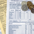 Stock Photo: Utility bills
