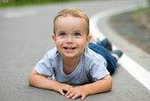 Mutlu çocuk — Stok fotoğraf