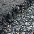 Stock Photo: Layer of freshly applied asphalt