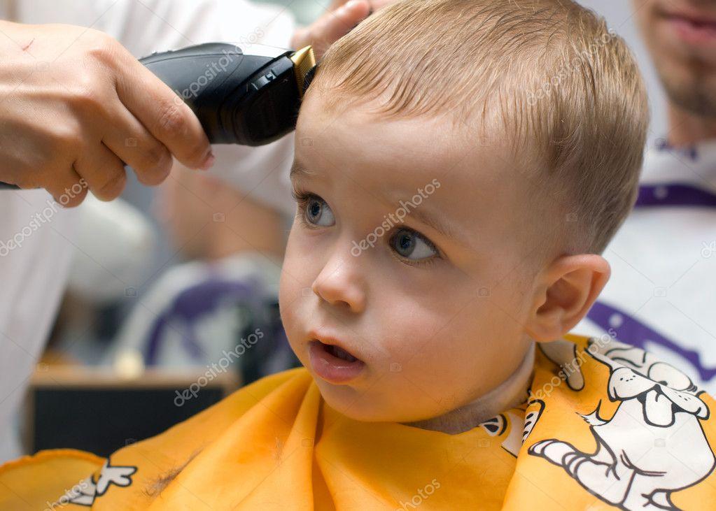 Стричь прически машинкой мальчику